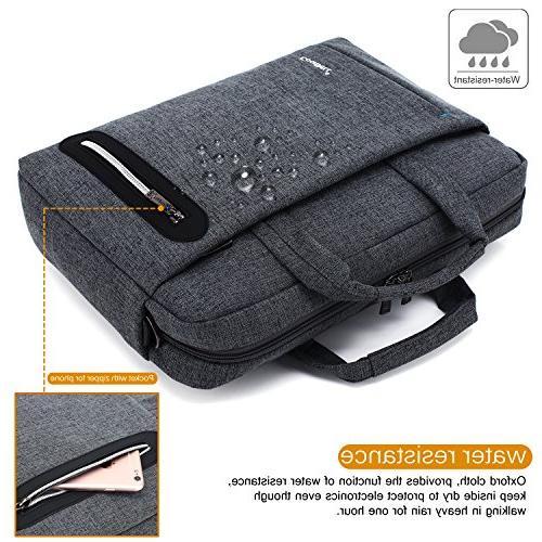 CoolBELL 15.6 inch Laptop Bag Messenger Bag Multi-compartment Nylon Shoulder Laptop/Ultrabook / Macbook/Asus / Lenovo/Men/Women