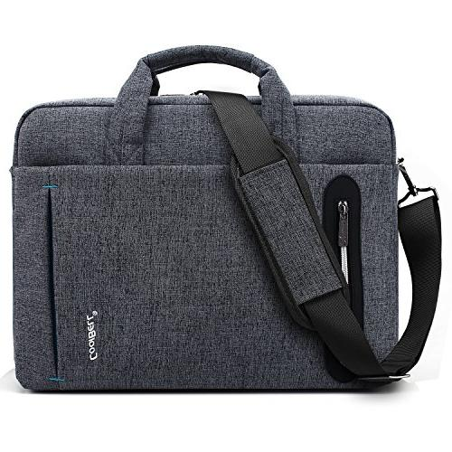 CoolBELL 15.6 Bag Bag Bag Briefcase Nylon Shoulder Bag Laptop/Ultrabook / Macbook/Asus Lenovo/Men/Women