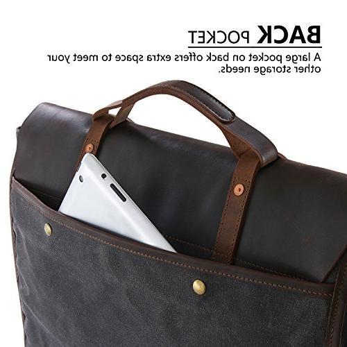 Lifewit Bag Leather Waterproof