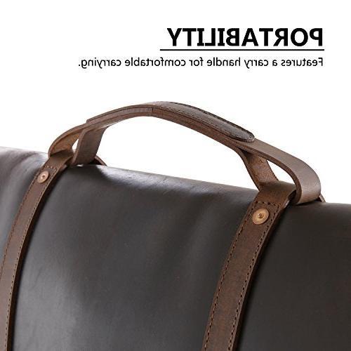 Lifewit Bag Leather Laptop Shoulder