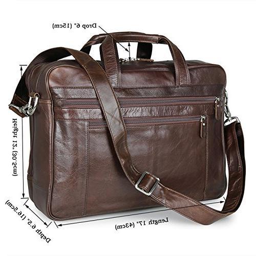Berchirly Messenge Brifecase Shoulder Bags Laptop