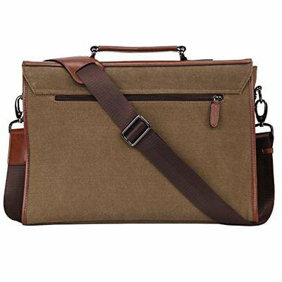 Banuce 13.3 Messenger Bag for Vintage Canvas Bag