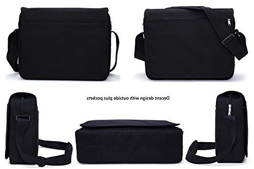 MIER Bag Computer Shoulder Bag Work and School, Pocket, Update
