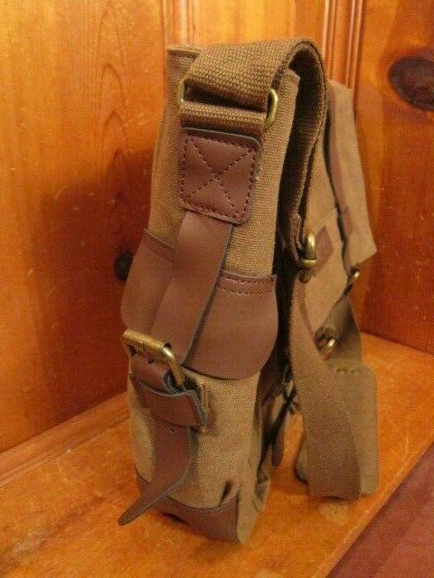 Sweetbriar Briefcase Canvas Leather Shoulder