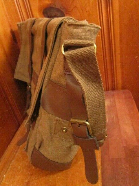 Sweetbriar Messenger Bag Briefcase Brown Leather Shoulder