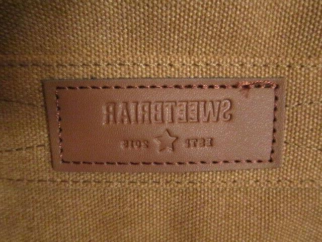 Sweetbriar Bag Briefcase Canvas Shoulder