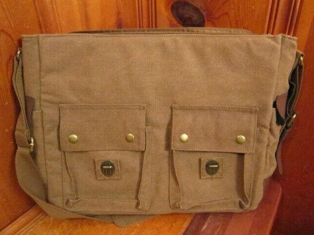 Sweetbriar Laptop Briefcase Brown Shoulder