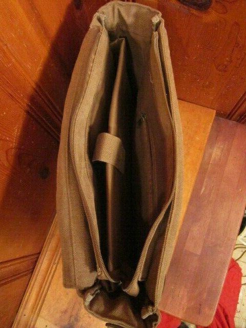 Sweetbriar Messenger Bag Briefcase Brown Shoulder
