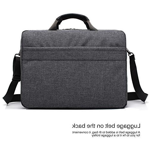 CoolBELL 17.3 Inch Laptop Messenger Bag/Durable Business Laptop/Ultrabook / Dell/HP /