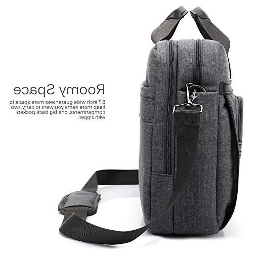 CoolBELL 17.3 Messenger Shoulder Bag/Multi-functional Laptop/Ultrabook Dell/HP