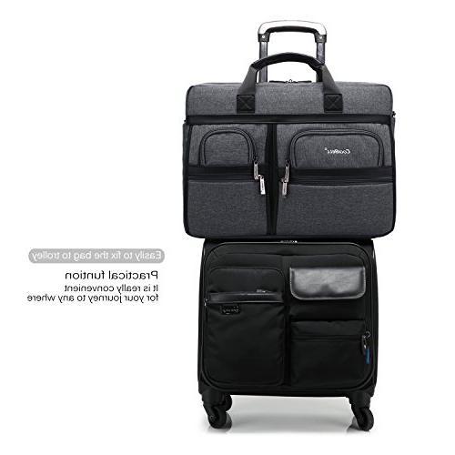 CoolBELL 17.3 Inch Messenger Shoulder Laptop/Ultrabook Dell/HP /