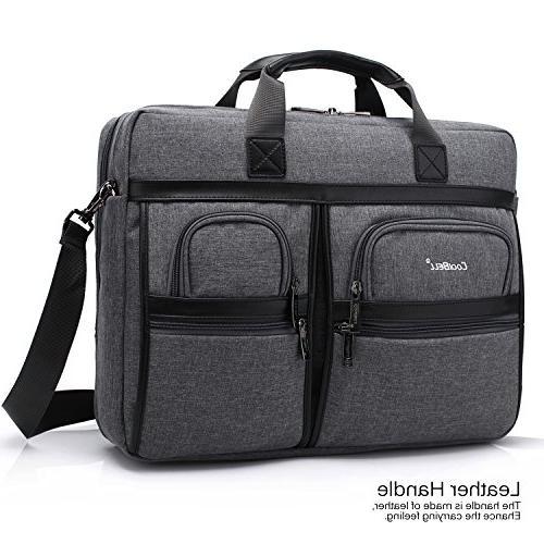 CoolBELL Laptop Messenger Shoulder Bag/Multi-functional Hand Laptop/Ultrabook Tablet/Macbook Dell/HP / Acer/Men/Women