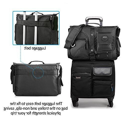 Linshi Messenger Bag,17 Water Shoulder …