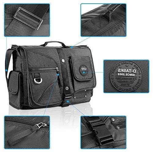 Linshi Tasks Messenger Bag,17 Resistant Shoulder Crossbody …