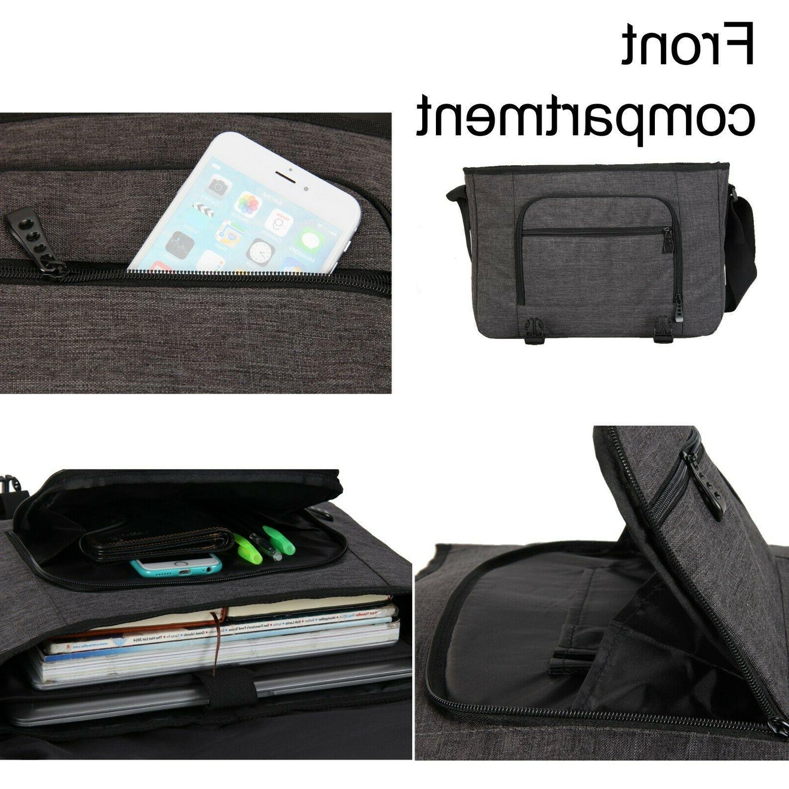 Large New Messenger Bag Men's Briefcase Shoulder Bag Bags