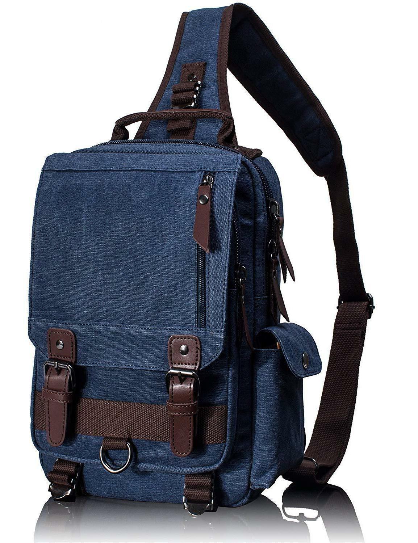 leaper canvas messenger bag sling bag cross