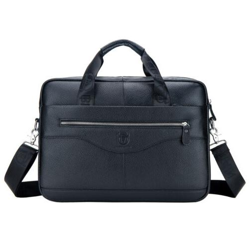 Leather Messenger Bag Briefcase Crossbody Bags