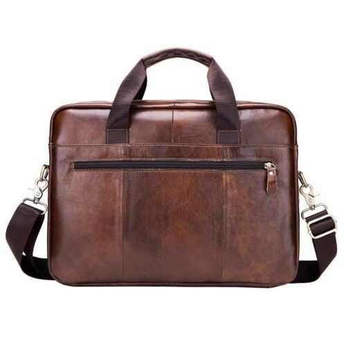 Leather Briefcase Crossbody Bags