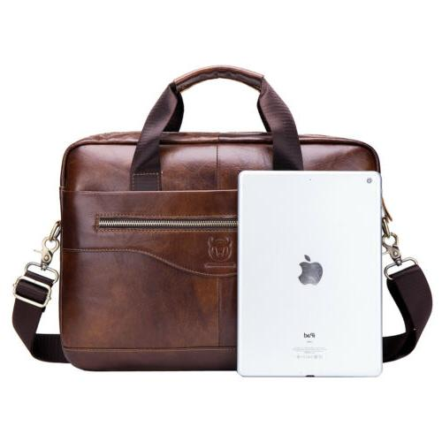 Briefcase Handbag for Men Crossbody