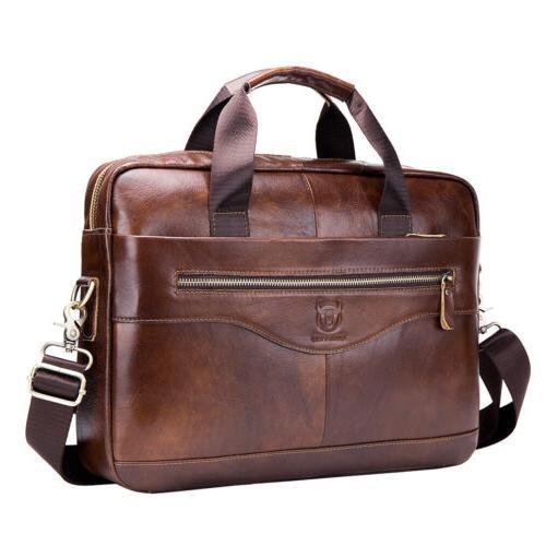 leather business messenger bag briefcase handbag