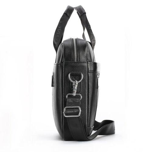 Leather Business Bag Laptop Men Pack