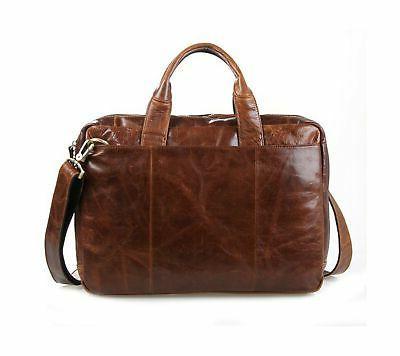 Berchirly 15inch Oil Shoulder Messenger Bag B...