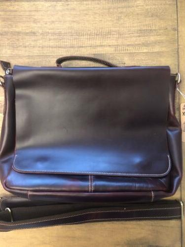 Berchirly Leather Waxed Bag