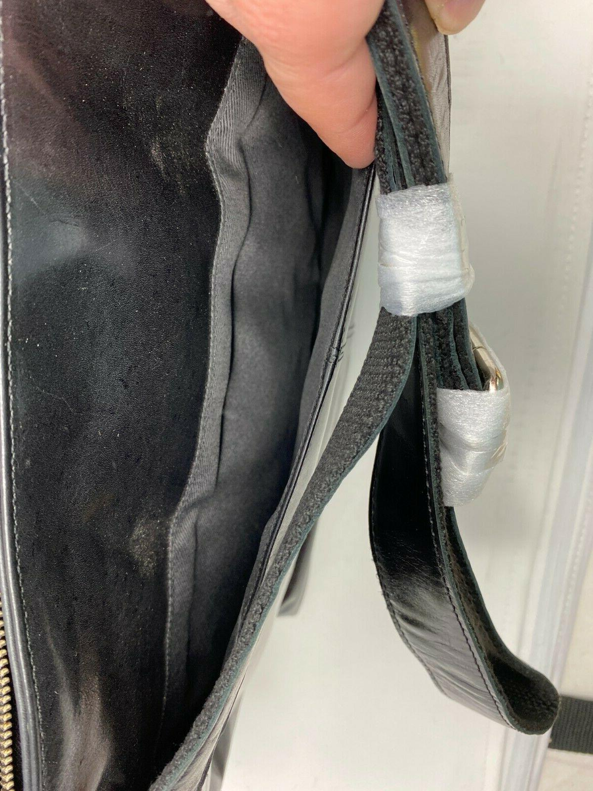 Leather Messenger Bag 16 Inch Office Men and