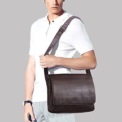 Banuce Leather for Men Bags Bookbag