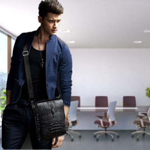 Leather Messenger Shoulder Crossbody Bags