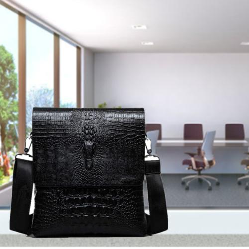 leather messenger bag for men satchel briefcase