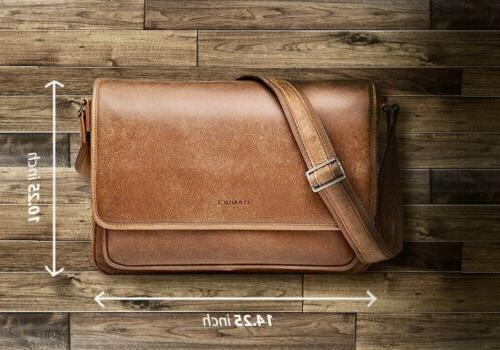 Leather Bag Women Laptop - Banuce