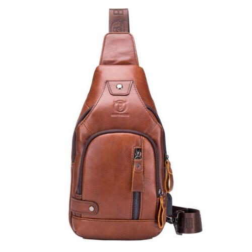 Leather Hiking Daypack for