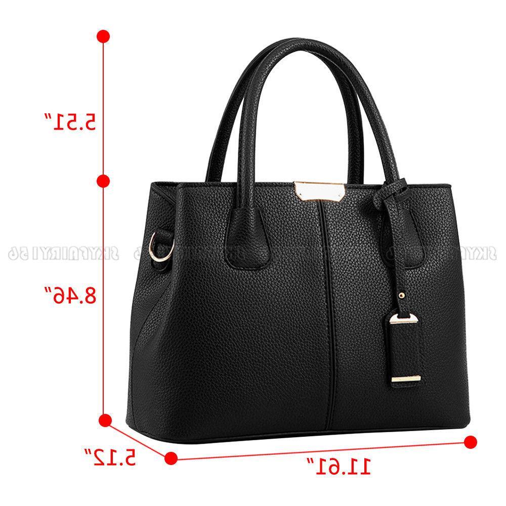 Leather Woman Shoulder Cross Bag Satchel