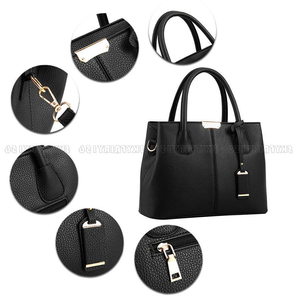 Leather Shoulder Bag Lady Satchel Purse