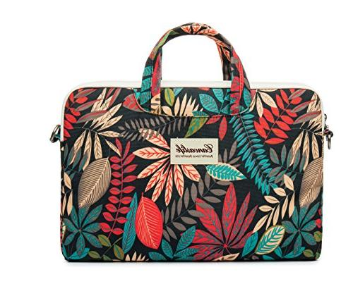 Canvaslife leaves Laptop Bag 11.6 Inch/ Inch /13.3 Inch Briefcase for 11/macbook Pro Case