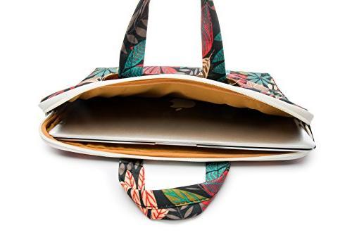 Canvaslife leaves Shoulder Bag Inch Briefcase 11/macbook Pro 13 Case