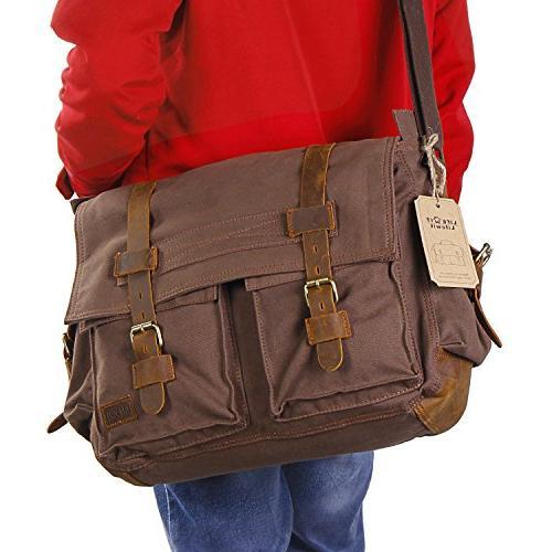 Lifewit Men's Bag Military Laptop