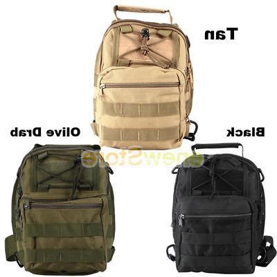 Men Backpack Sling Chest Assault Pack Messenger