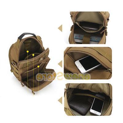 Men Molle Tactical Sling Pack Messenger Shoulder