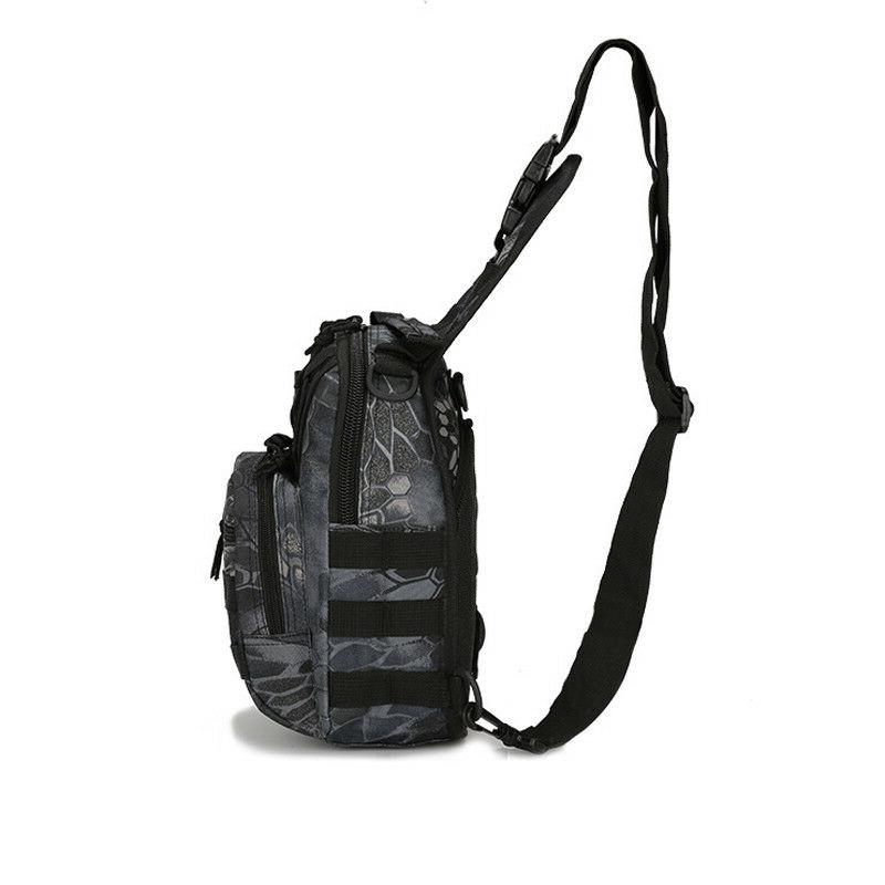 Men Tactical Sling Chest Pack Messenger Shoulder Bag