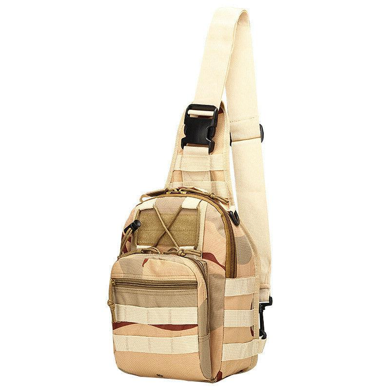 Men Backpack Molle Sling Bag Pack