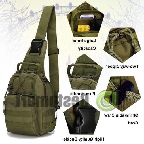 Men Backpack Sling Chest Bag