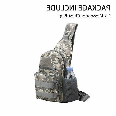Men Sling Bag Pack Messenger