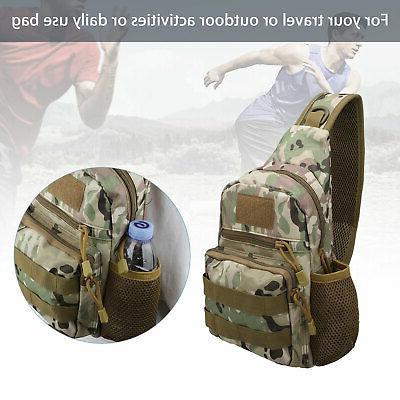 Men Sling Chest Bag Pack Shoulder