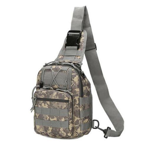 Men Backpack Tactical Sling Shoulder Bag Outdoor