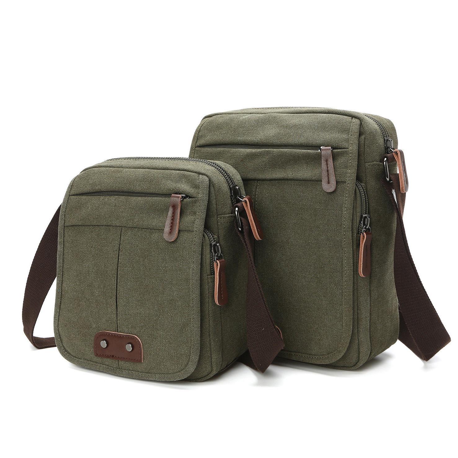 Men Shoulder Bag Vintage Casual
