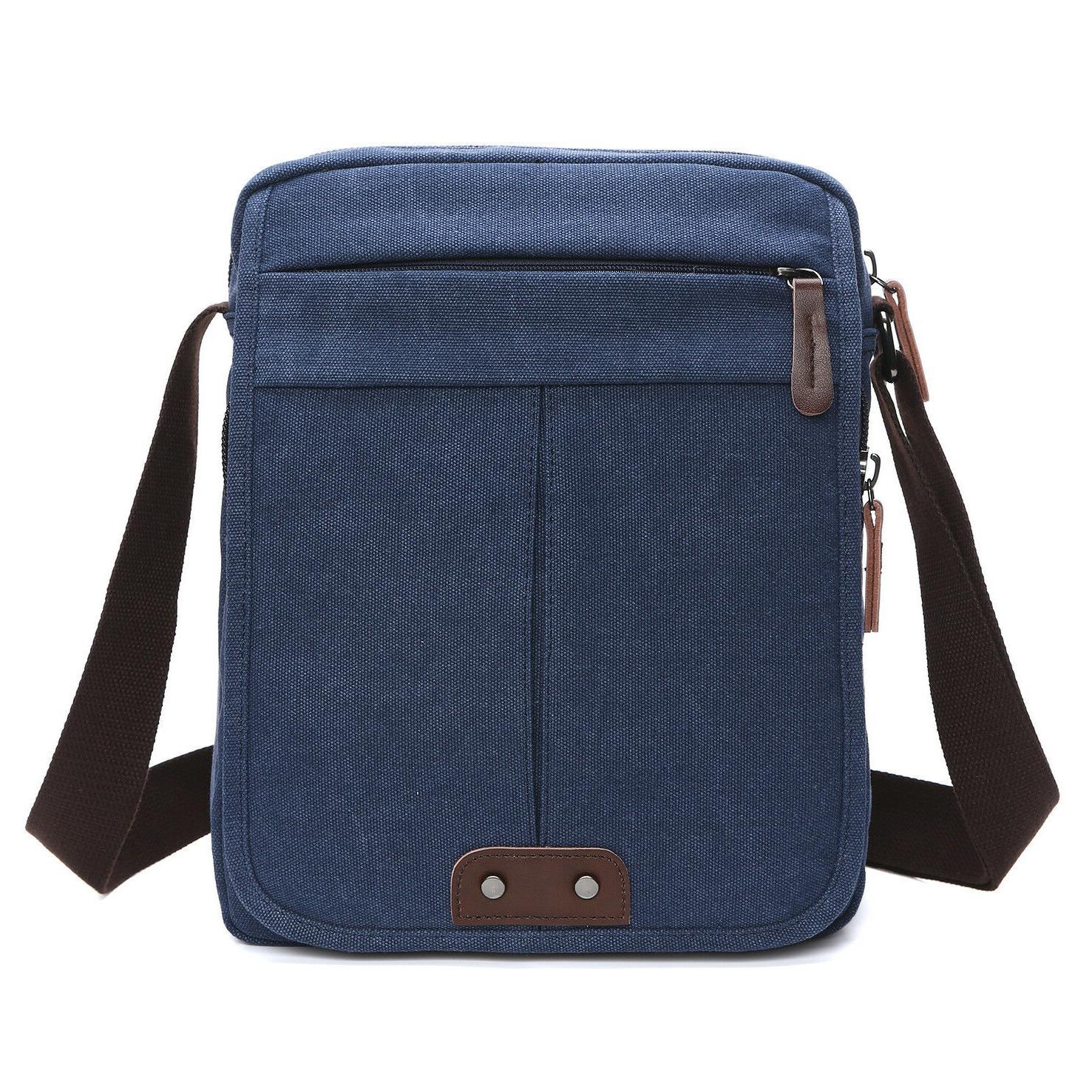 Men Canvas Shoulder Vintage Casual andbags