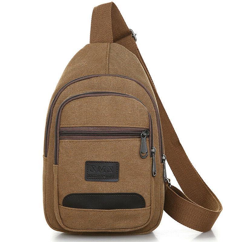 Men Pack Crossbody Travel Messenger Handbag