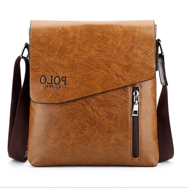 Men Leather Bag Business Travel Briefcase USA